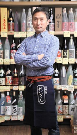 酒のセザキ店主の写真