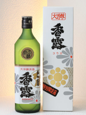[熊本県酒造研究所・熊本]香露 大吟醸の写真
