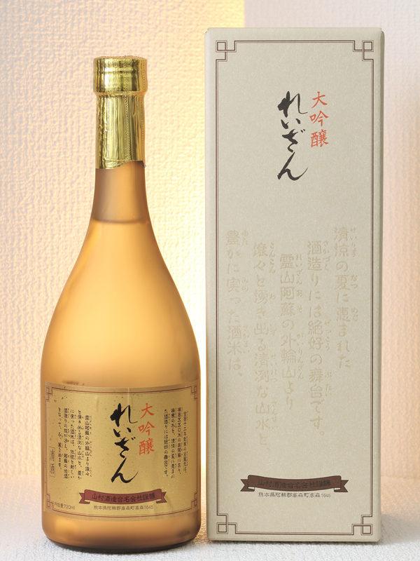 [山村酒造・熊本]霊山 大吟醸の写真